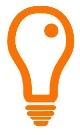 Glows Lightbulb small