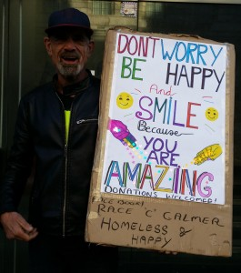 Homeless and Happy